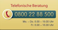Hotline 0800 22 88 500